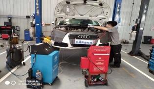 刹车油管路清洗更换